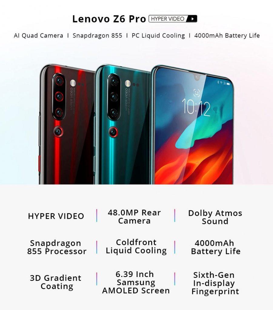coupon, gearvita, Lenovo Z6 Pro 4G Smartphone