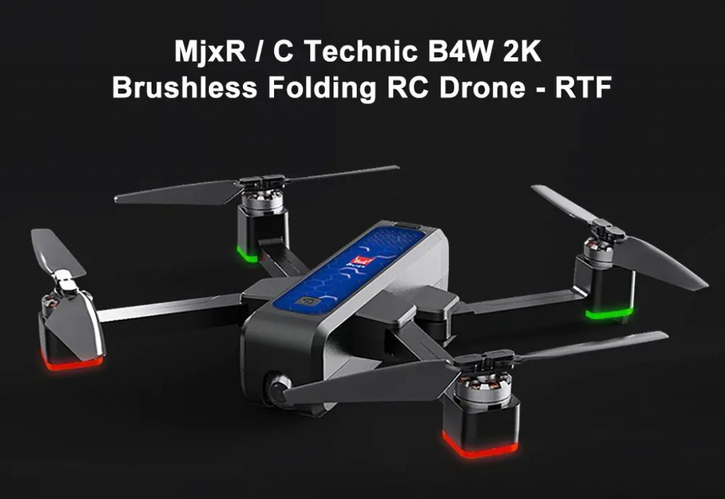 coupon, gearbest, MjxR C Technic B4W 2K Brushless RC Drone