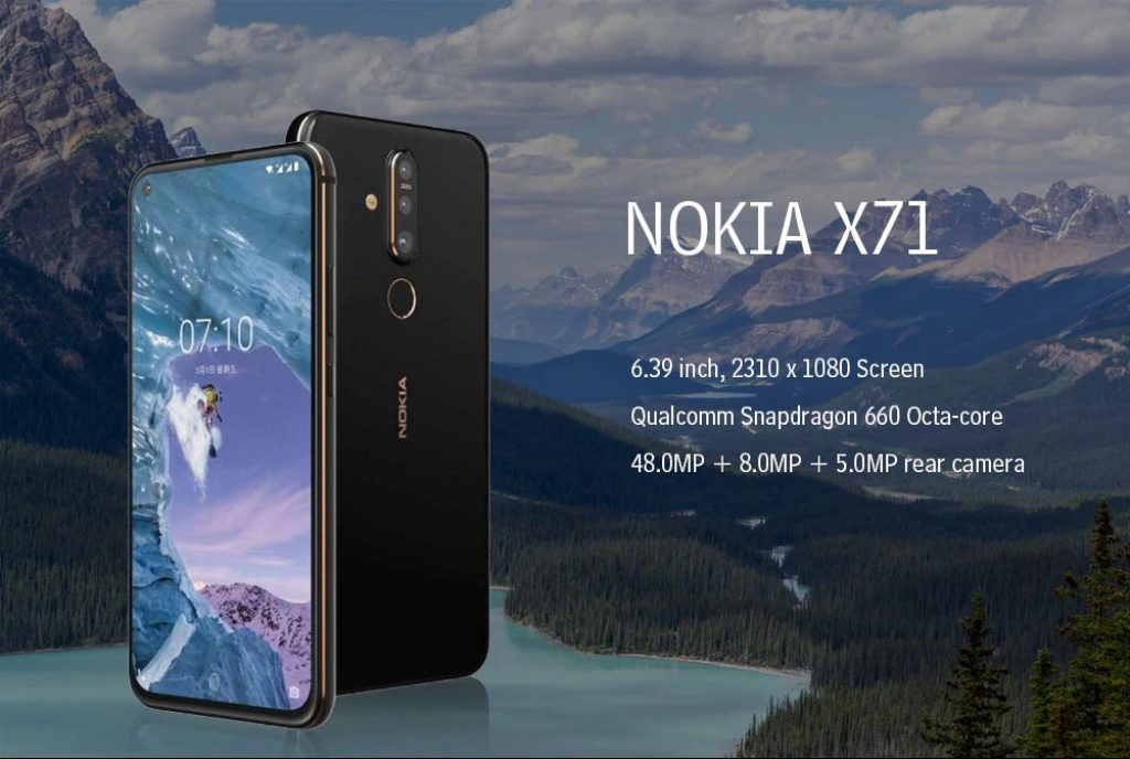 coupon, gearbest, NOKIA X71 4G Phablet smartphone