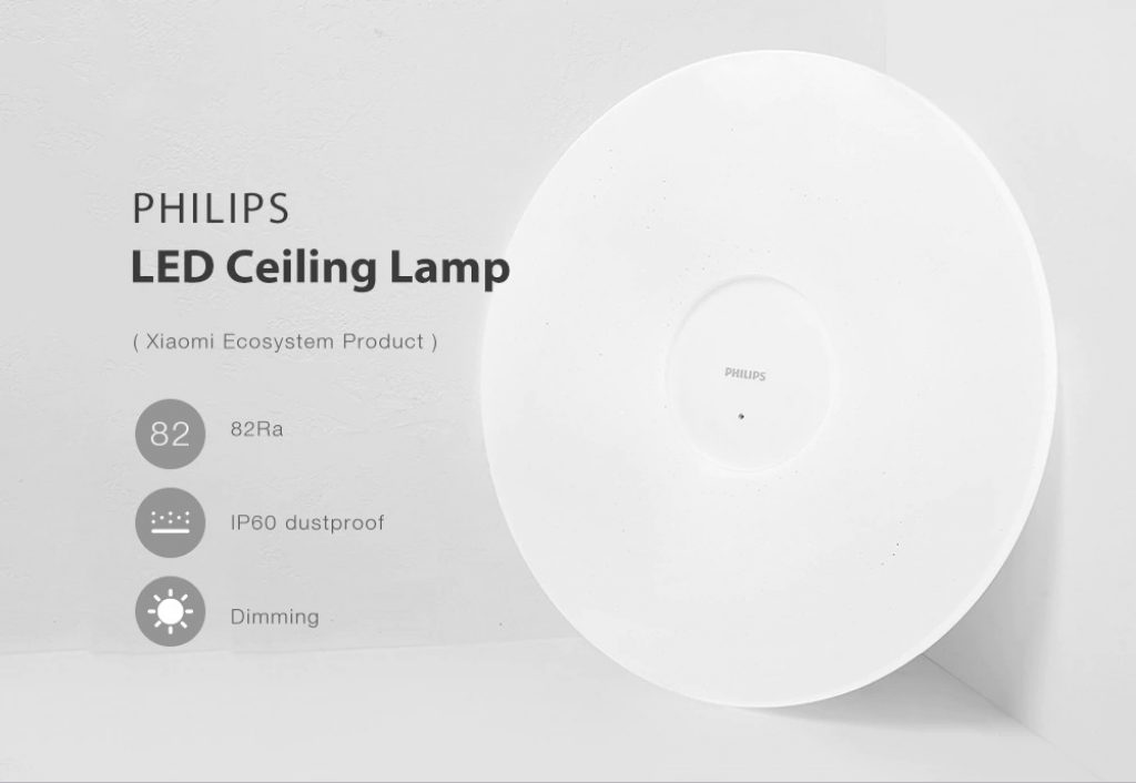 coupon, gearbest, PHILIPS LED Ceiling Lamp ( Xiaomi Ecosystem Product )