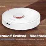 banggood, kupon, gearbest, Roborock S6 LDS Scanning SLAM Algoritma Robot Vacuum Cleaner
