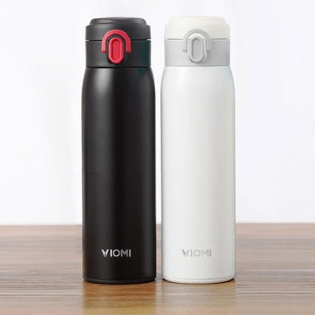 VIOMI From XIAOMI Youpin 300ML Stainless Steel Thermose Double Wall Vacuum Insulated Water Bottle Drinking Cup Drinking Bottle - Black, COUPON, BANGGOOD