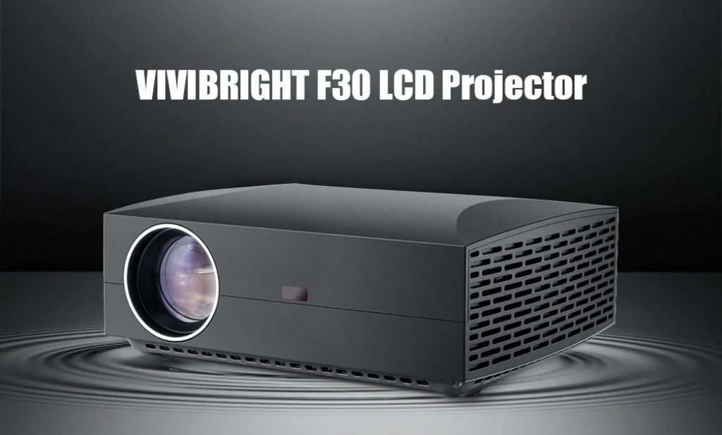 coupon, gearbest, VIVIBRIGHT F30 LCD Projector
