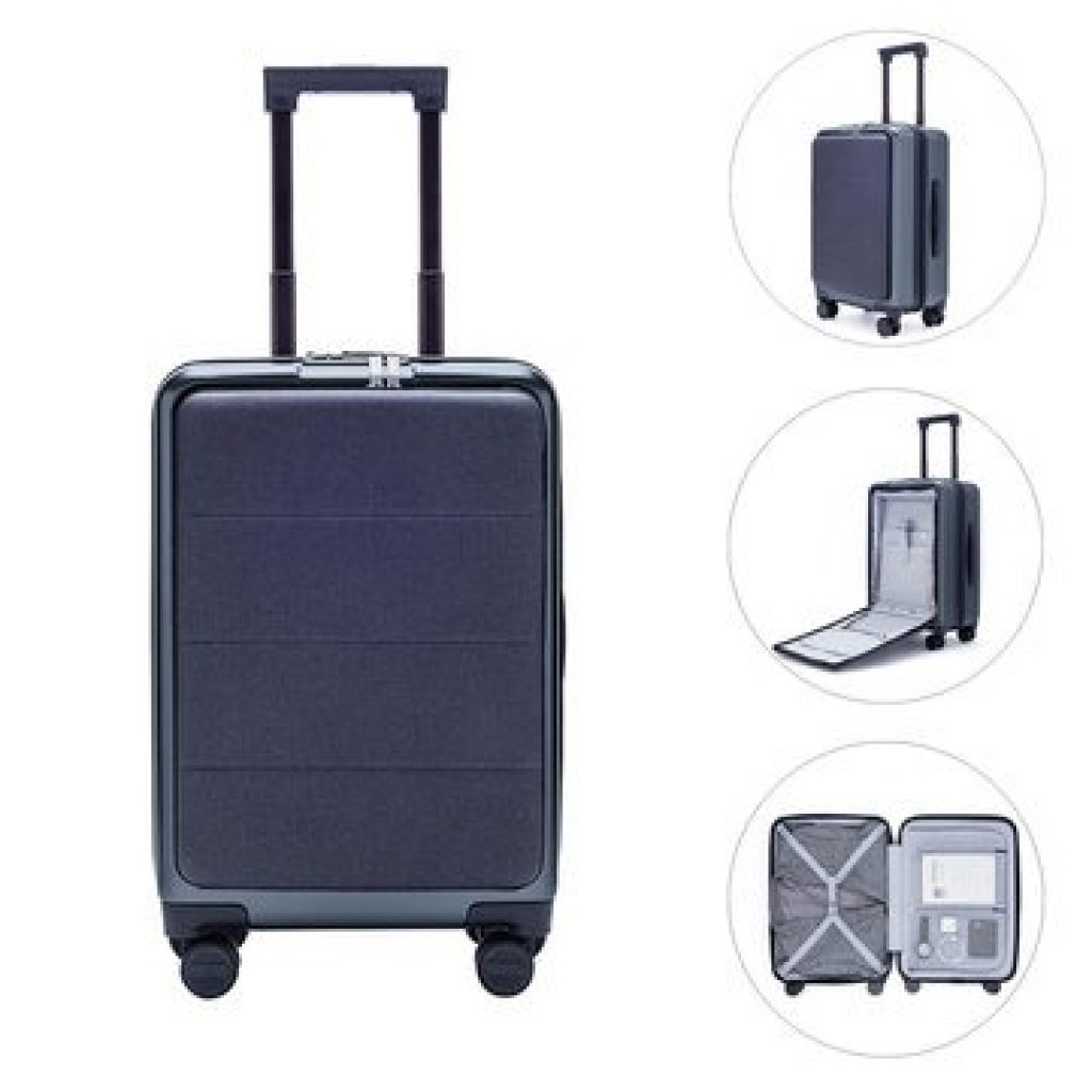 Xiaomi 90FUN 20inch Business Travel Batožina 36L TSA Zámok Hliníková zliatina Spinner Wheel Suitcase na kufri, COUPON, BANGGOOD