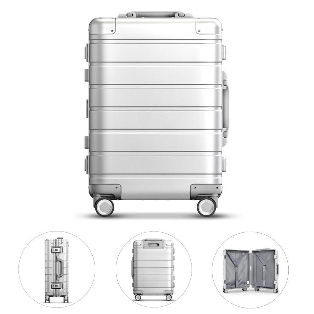 Xiaomi 90FUN 20inch Travel Luggage 31L TSA Lock Aluminum Alloy Spinner Wheel Suitcase Carry On Suitcase, COUPON, BANGGOOD