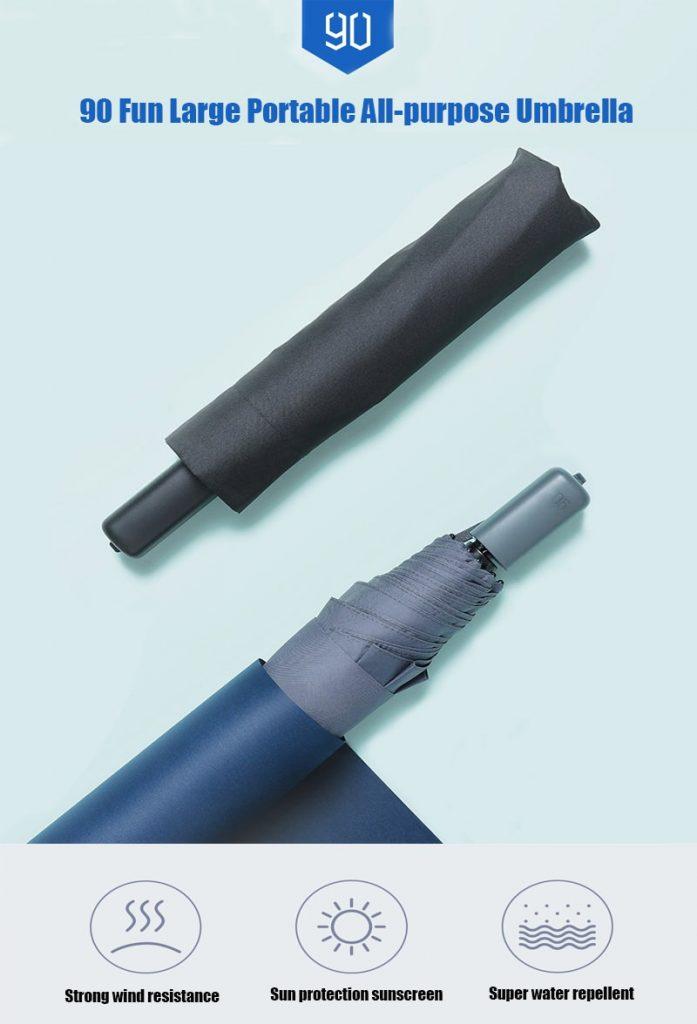 coupon, gearvita, Xiaomi 90FUN Folding Umbrella