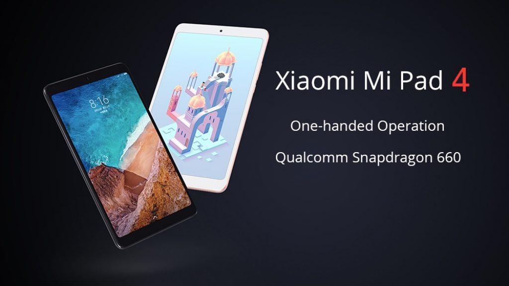 クーポン、gearvita、Xiaomi Mi Pad 4 WiFiタブレット