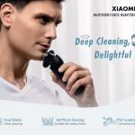 coupon, gearvita, Xiaomi Mijia MJTXD01SKS Smart Electric Shaver 360 Degree Float Shaving