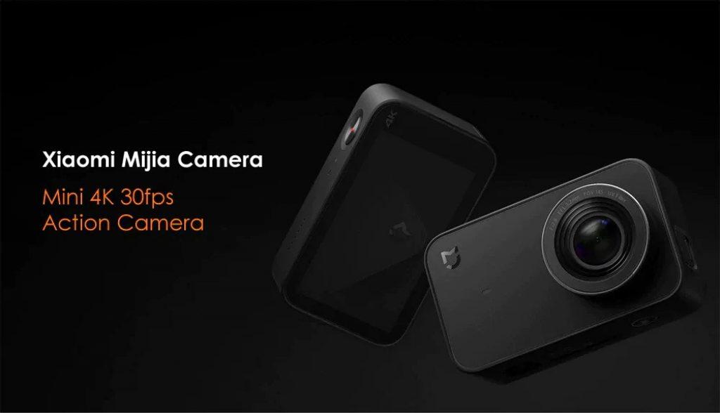 coupon, gearvita, Xiaomi Mijia Mini 4K 30fps Action Camera Global Version