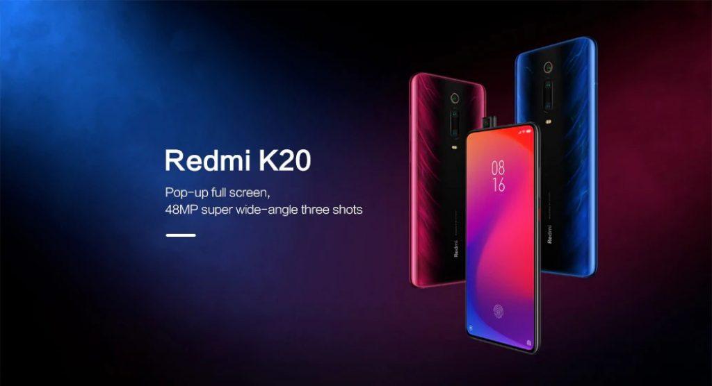 banggood, phiếu giảm giá, gearbest, điện thoại thông minh Phablet Xiaomi Redmi K20 4G