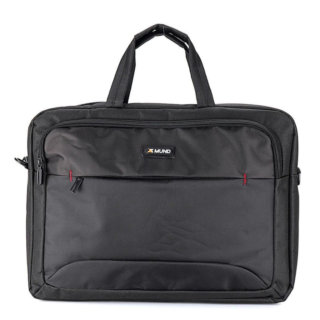 Túi xách tay Xmund 17.3 inch Túi xách dành cho nam và nữ - Đen, COUPON, BANGGOOD