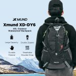 kupon, banggood, Xmund XD-DY6 40L Tahan Air Nilon Ransel Olahraga Travel Hiking Climbing Unisex Rucksack
