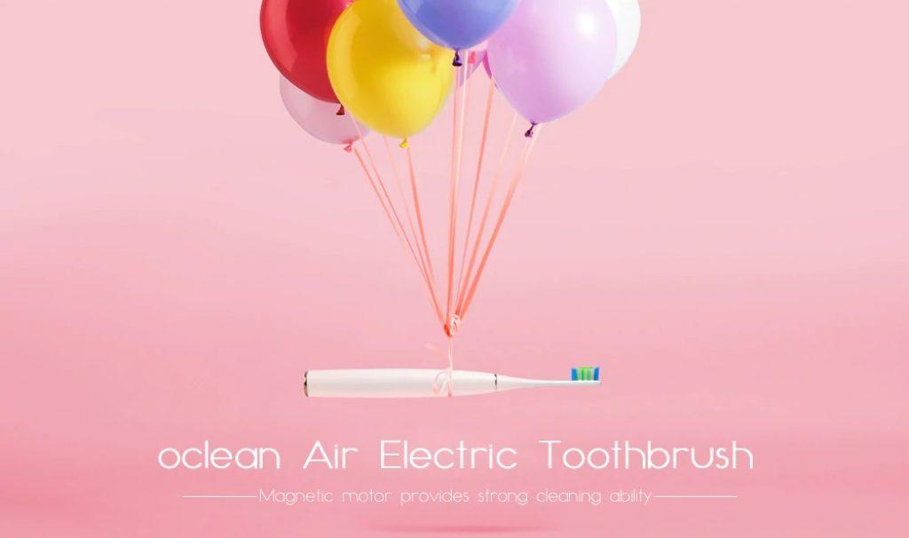 phiếu giảm giá, gearbest, oclean Air Strong Smart Sonic Electric Brush Brush