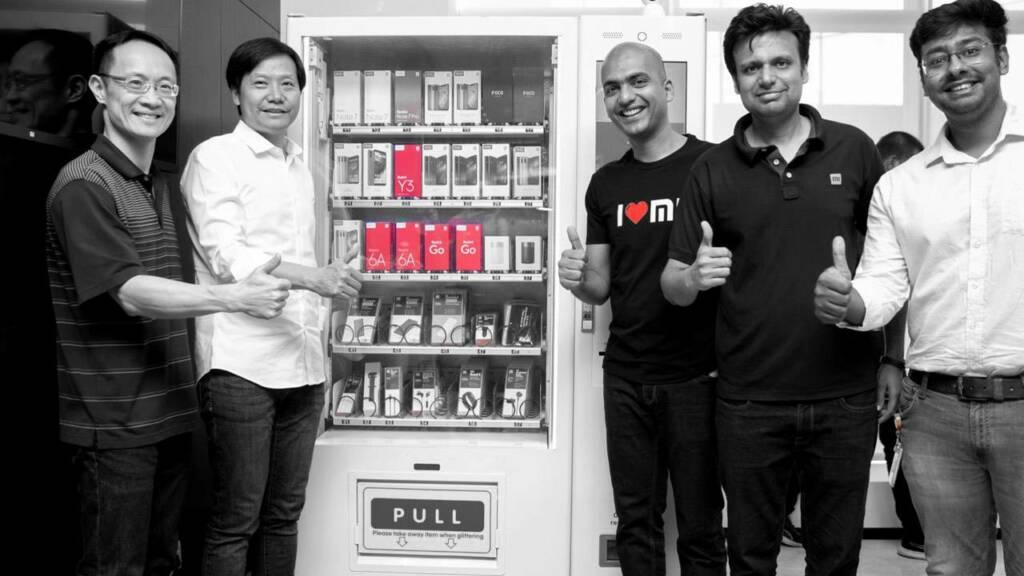 Mesin penjual otomatis Xiaomi