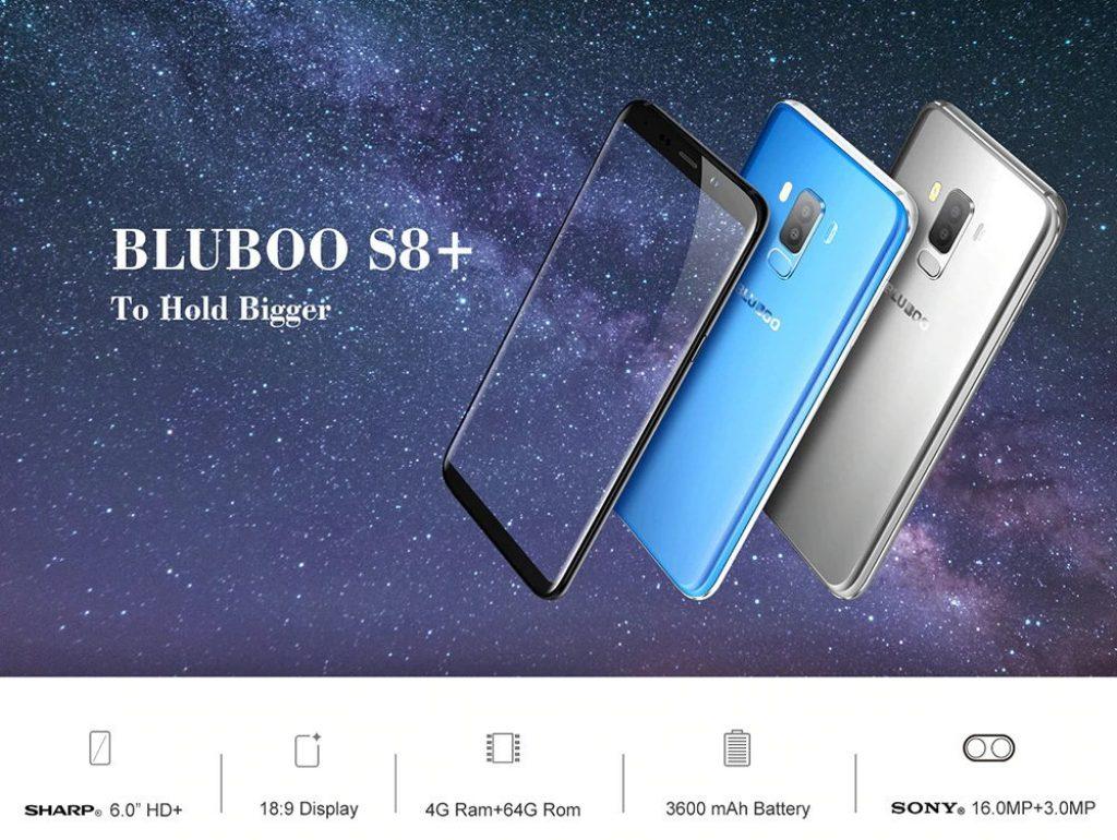 쿠폰, gearvita, Bluboo S8 Plus Smartphone