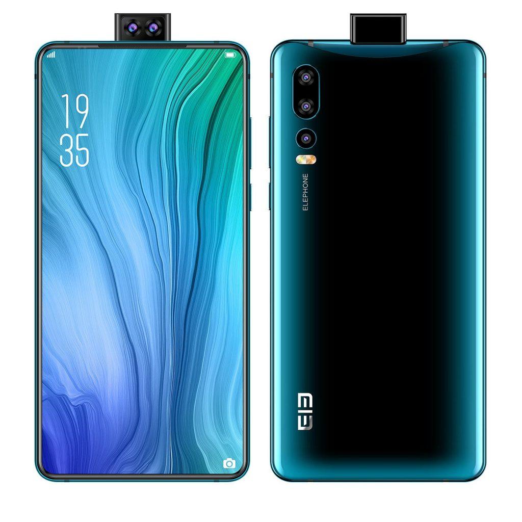 קופון, בנג'ון, Elephone U2 6.26 אינץ 16MP טריפל מצלמה אחורית 4GB 64GB הליו P70 ליבה אוקטה 4G Smartphone