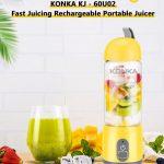 coupon, gearbest, KONKA KJ-60U02 Portable USB Charing Electric Fruit Juicer