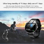 kupong, gearvita, Kospet V12 Leather Smartwatch