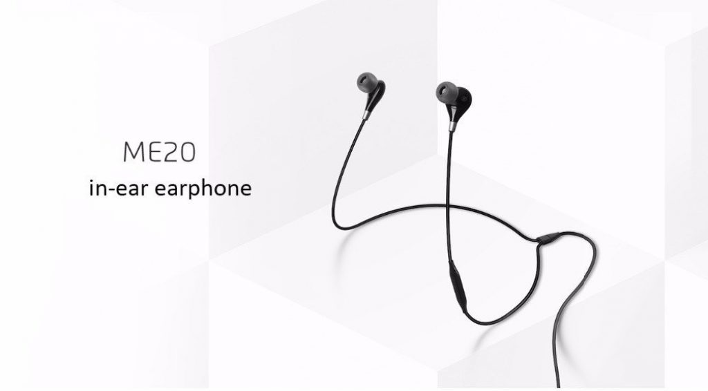 kupon, gearvita, Meizu ME20 Earphone In-Ear Kabel Dengan Mic