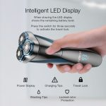 coupon, banggood, Minleaf ML-ES1 LCD Display IPX7 Waterproof Type-C Rechargeable Dry Wet Shave Electric Razor Shaver Men