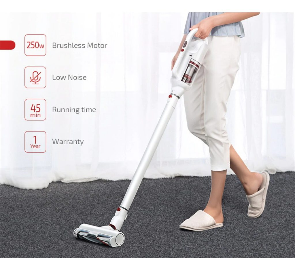 coupon, gearbest, PUPPYOO T10 Home Cordless Vacuum Cleaner