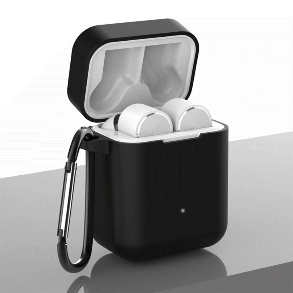 Phiếu giảm giá, banggood, Vỏ bảo vệ silicon di động Ốp lưng chống rơi cho Xiaomi Air bluetooth Tai nghe