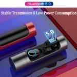 coupon, banggood, Touch Control True wireless bluetooth 5.0 Earphone Mini HiFi Stereo IPX6 Waterproof Headphone