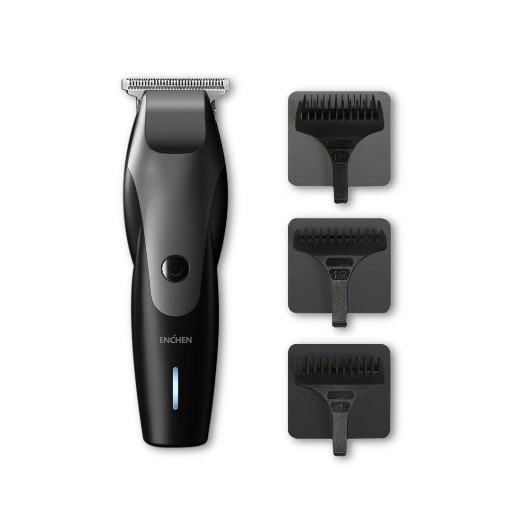 kupon, banggood, XIAOMI ENCHEN Hummingbird električni stroj za šišanje kose USB punjenje niske buke trimer za kosu s 3 češalj za kosu