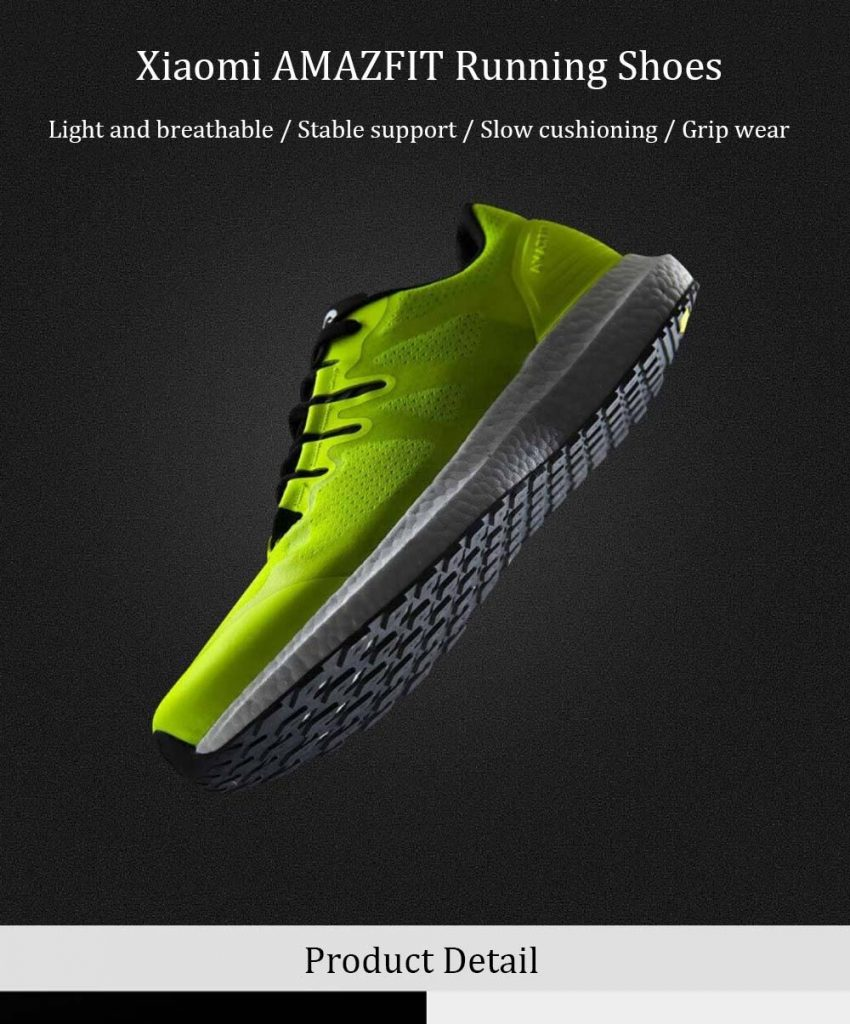 coupon, gearvita, Xiaomi AMAZFIT Men Running Shoes Lightweight Breathable Anti-slip Sneakers