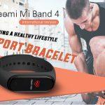 kupon, gearbest, Xiaomi Mi Band 4 Smart Bracelet International na Bersyon