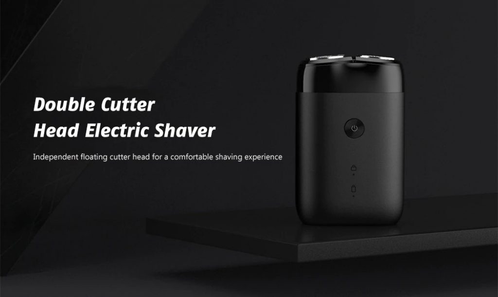 coupon, gearbest, Xiaomi Mijia MSX201 Double Cutter Head Electric Shaver