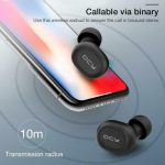 coupon, banggood, Xiaomi QCY T2S TWS bluetooth 5.0 Earphone Wireless Charging Smart Touch Bliateral Call Stereo Headphone