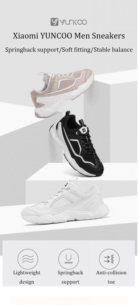Phiếu giảm giá, gearvita, Giày đi bộ thời trang Xiaomi YUNCOO