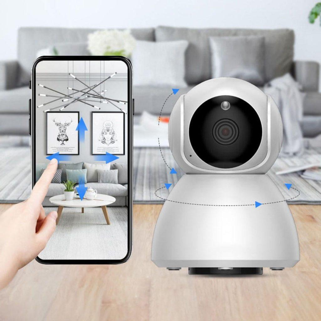 Cupom, banggood, Xiaovv Q8 1080P HD 360 ° Panorâmica Câmera IP Visão Noturna Infravermelha AI Moção Detecção Máquina Câmera Panorâmica de xiaomi youpin