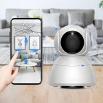 coupon, banggood, Xiaovv Q8 HD 1080P 360° Panoramic IP Camera Infrared Night Vision AI Mo-tion Detection Machine Panoramic Camera from xiaomi youpin