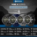 coupon, banggood, Zeblaze VIBE 4 HYBRID 1.24' All-day Activity 50ATM Call Social Message Reminder 24-month Standby Smart Watch
