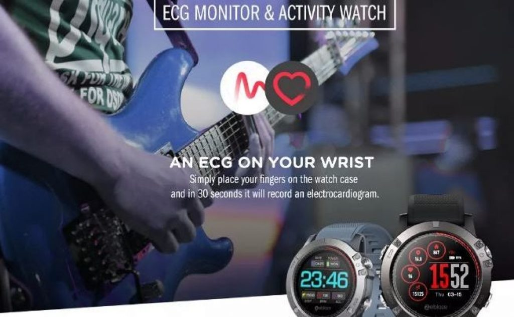 coupon, banggood, Zeblaze VIBE 5 GREENCELL Smart Watch