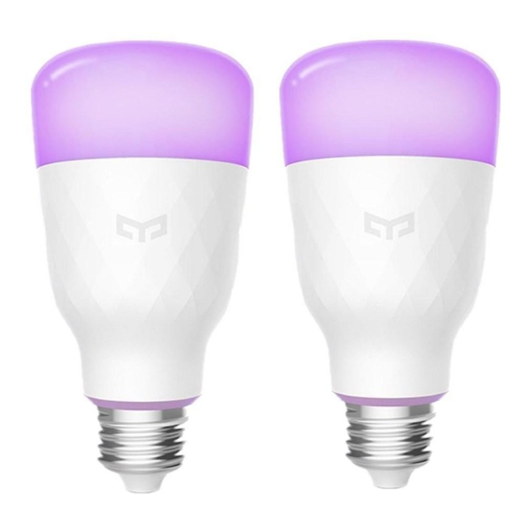 2PCS Yeelight YLDP06YL E27 10W RGBW Smart LED Bulb Work With Amazon Alexa AC100-240V(Xiaomi Ecosystem Product), COUPON, BANGGOOD