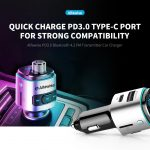 coupon, gearbest, Alfawise PD3.0 Bluetooth 4.2 FM Transmitter Fast Charge Car Charger