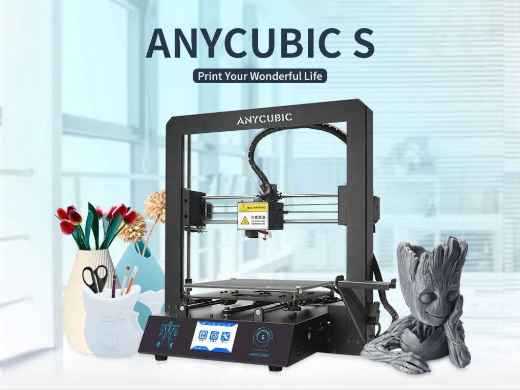 kupon, gearbest, Anycubic Mega - S 3D Printer Mega-upgrade