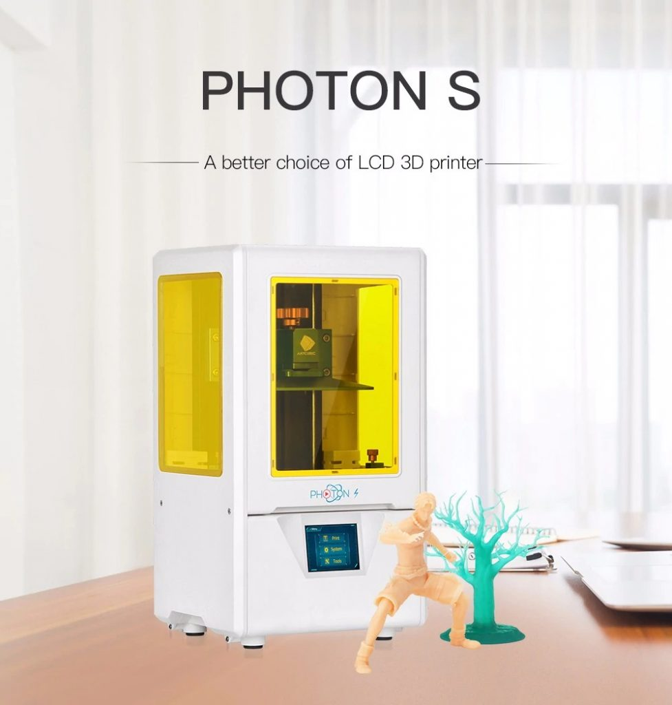 coupon, gearbest, Anycubic Photon S LCD 3D Printer