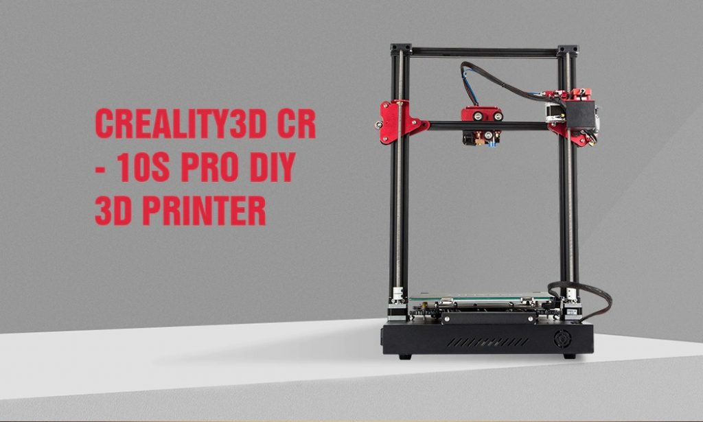 coupon, gearbest, Creality CR - 10S Pro 300 x 300 x 400 3D Printer with 3D Viewer