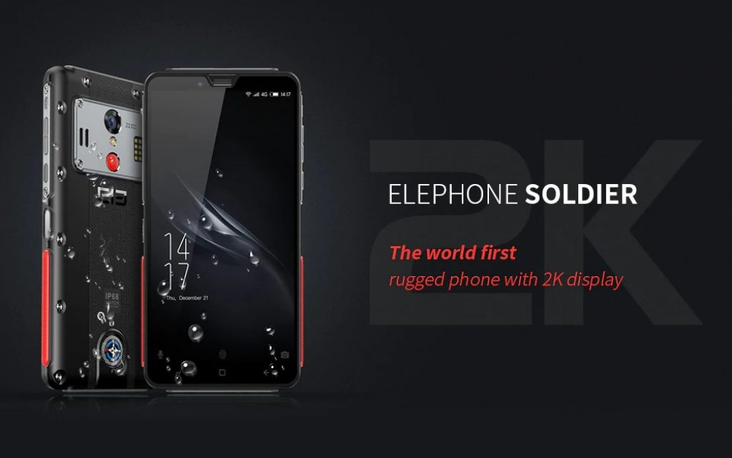 banggood, coupon, gearbest, Elephone Soldier 4G Phablet