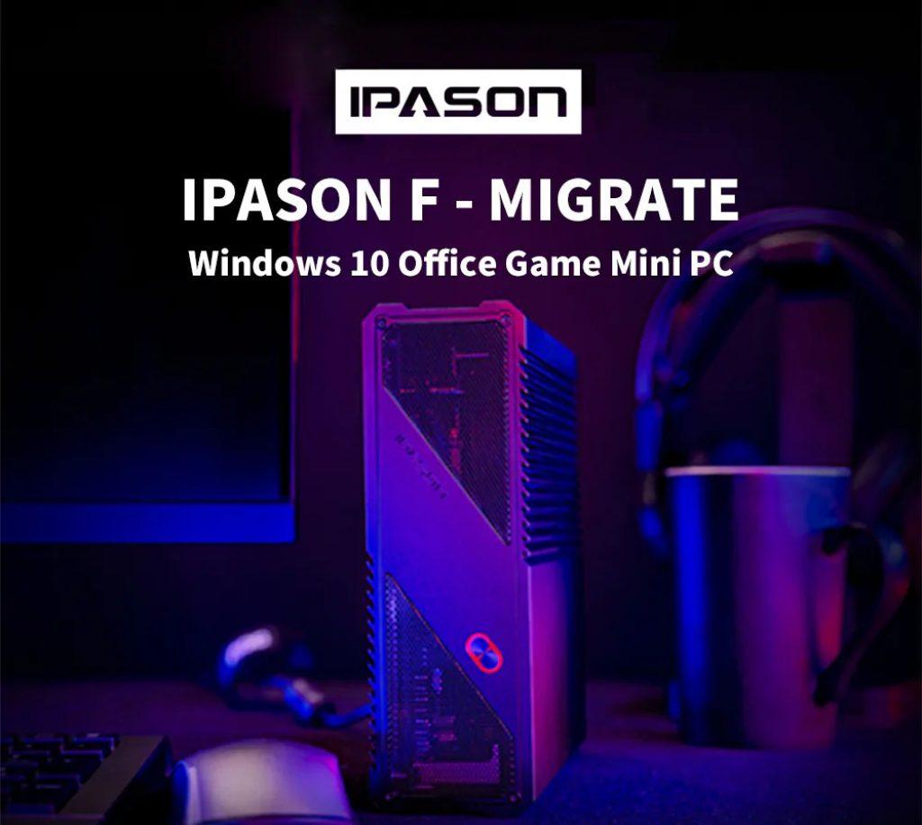 phiếu giảm giá, banggood, IPASON F - MIGRATE Windows 10 Office Game Mini PC