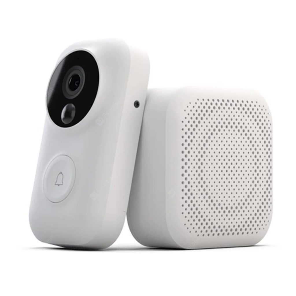 coupon, gearbest, Intelligent Video Doorbell Set from Xiaomi youpin