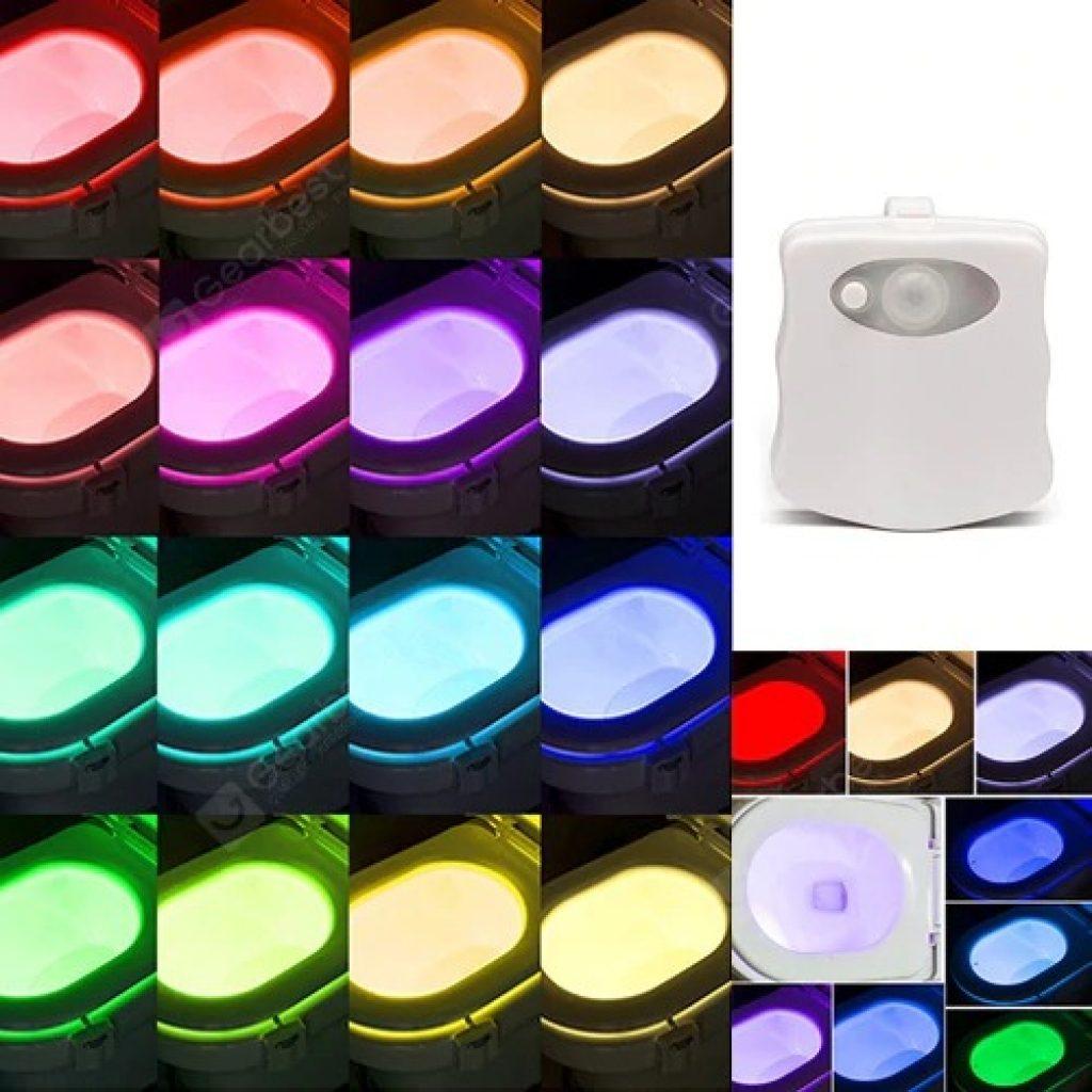 Phiếu giảm giá, gearbest, Đèn LED cảm ứng màu 16