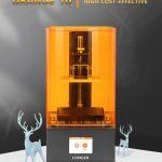 Cupom, gearbest, impressora de resina XLUMXD impressora LCD 10D mais longa Orange3 LCD SLA 3d impressora montada UV LCD luz cura impressora