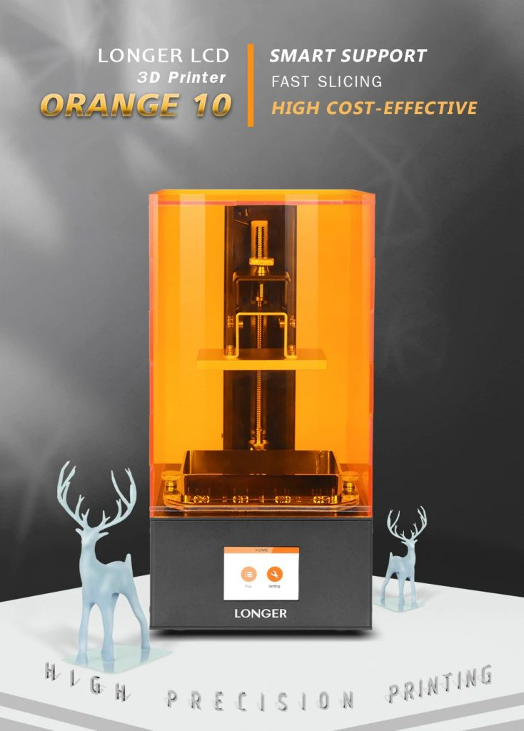 coupon, gearbest, Longer Orange10 LCD 3D Printer resin mini SLA 3d printer Assembled UV LCD light curing Printer