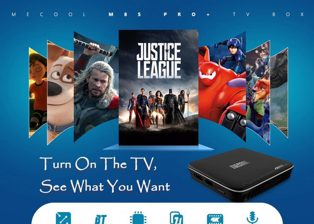 phiếu giảm giá, hộp số, MECOOL M8S PRO + TV Box