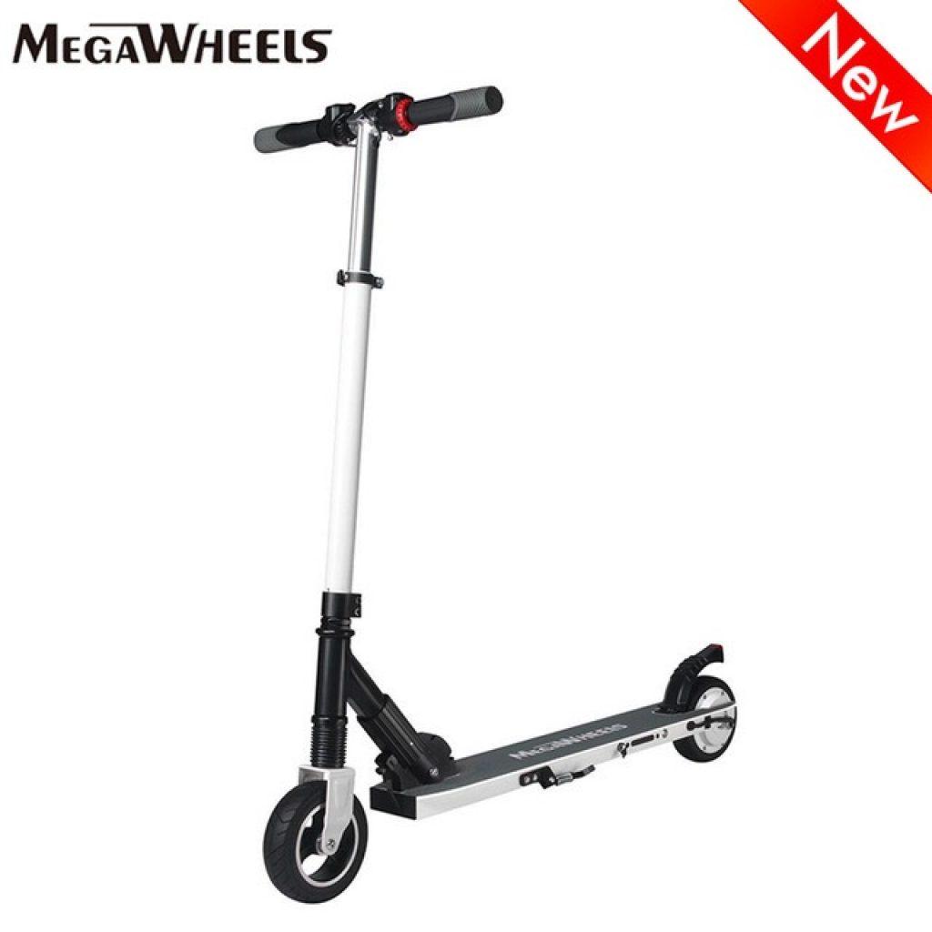 kupón, banggood, Megawheels S1 250W Motorový prenosný skladací elektrický skúter